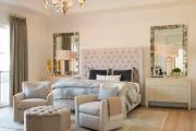 Фото 8 Трендовый цвет для спальни — белый глянец: 70+ современных и классических интерьеров в белоснежных тонах