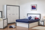 Фото 5 Трендовый цвет для спальни — белый глянец: 70+ современных и классических интерьеров в белоснежных тонах