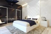 Фото 11 Трендовый цвет для спальни — белый глянец: 70+ современных и классических интерьеров в белоснежных тонах