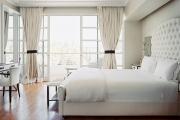 Фото 13 Трендовый цвет для спальни — белый глянец: 70+ современных и классических интерьеров в белоснежных тонах