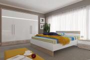 Фото 14 Трендовый цвет для спальни — белый глянец: 70+ современных и классических интерьеров в белоснежных тонах