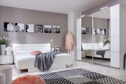 Фото 21 Трендовый цвет для спальни — белый глянец: 70+ современных и классических интерьеров в белоснежных тонах