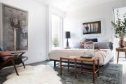 Фото 25 Трендовый цвет для спальни — белый глянец: 70+ современных и классических интерьеров в белоснежных тонах