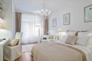 Фото 26 Трендовый цвет для спальни — белый глянец: 70+ современных и классических интерьеров в белоснежных тонах