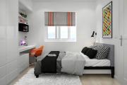 Фото 9 Трендовый цвет для спальни — белый глянец: 70+ современных и классических интерьеров в белоснежных тонах