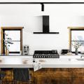 Бетонная столешница на кухне (80+ фото моделей): плюсы-минусы, уход и монтаж своими руками фото