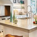 Бетонная столешница на кухне: плюсы-минусы, тонкости правильного ухода и монтажа фото