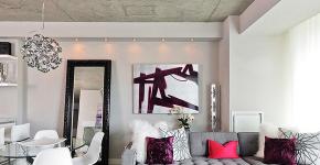 Бетонный потолок в интерьере: 60+ лаконичных идей для дизайна в стиле лофт, минимализм и хай-тек фото