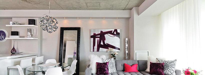 Бетонный потолок в интерьере: 60+ лаконичных идей для дизайна в стиле лофт, минимализм и хай-тек
