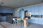 Фото 5 Бетонный потолок в интерьере: 60+ лаконичных идей для дизайна в стиле лофт, минимализм и хай-тек