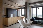 Фото 10 Бетонный потолок в интерьере: 60+ лаконичных идей для дизайна в стиле лофт, минимализм и хай-тек