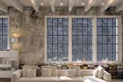 Фото 14 Бетонный потолок в интерьере: 60+ лаконичных идей для дизайна в стиле лофт, минимализм и хай-тек