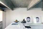 Фото 21 Бетонный потолок в интерьере: 60+ лаконичных идей для дизайна в стиле лофт, минимализм и хай-тек