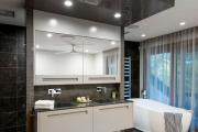 Фото 6 Черная ванная комната — тренд сезона: 65 стильных идей дизайна в черном цвете
