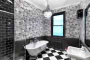 Фото 7 Черная ванная комната — тренд сезона: 65 стильных идей дизайна в черном цвете