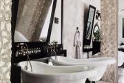 Фото 10 Черная ванная комната — тренд сезона: 65 стильных идей дизайна в черном цвете