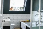 Фото 16 Черная ванная комната — тренд сезона: 65 стильных идей дизайна в черном цвете