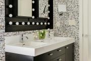 Фото 17 Черная ванная комната — тренд сезона: 65 стильных идей дизайна в черном цвете