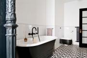 Фото 20 Черная ванная комната — тренд сезона: 65 стильных идей дизайна в черном цвете