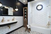 Фото 22 Черная ванная комната — тренд сезона: 65 стильных идей дизайна в черном цвете