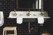 Фото 27 Черная ванная комната — тренд сезона: 65 стильных идей дизайна в черном цвете