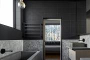Фото 28 Черная ванная комната — тренд сезона: 65 стильных идей дизайна в черном цвете
