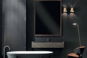 Фото 29 Черная ванная комната — тренд сезона: 65 стильных идей дизайна в черном цвете