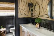 Фото 30 Черная ванная комната — тренд сезона: 65 стильных идей дизайна в черном цвете