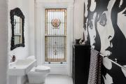 Фото 4 Трендовый монохром: создаем дизайн интерьера черной ванной комнаты