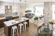 Фото 11 Дизайн кухни площадью 20 кв. метров: ТОП-5 простых советов для создания стильного интерьера без дизайнера