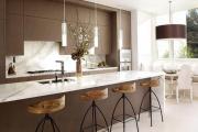 Фото 1 Интерьер кухни 20 кв. метров: варианты отделки и 5 простых советов для стильного дизайна