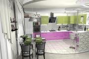Фото 19 Дизайн кухни площадью 20 кв. метров: ТОП-5 простых советов для создания стильного интерьера без дизайнера