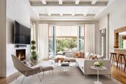 Фото 19 Интерьер гостиной 20 кв. метров: современные идеи, фото отделки и тренды дизайна в 2019 году