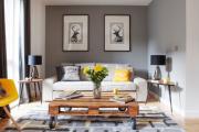 Фото 30 Интерьер гостиной 20 кв. метров: современные идеи, фото отделки и тренды дизайна в 2019 году
