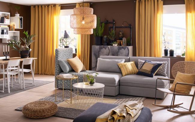 Элементы мебели от Икеа доступны в самых разных размерах