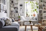 Фото 4 Сканди-настроение — интерьеры гостиной от ИКЕА: как создать стильный дизайн при минимальных затратах?