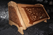 Фото 1 Как сделать хлебницу из дерева своими руками: мастер-классы и полезные советы умельцев