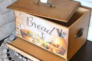 Фото 25 Как сделать хлебницу из дерева своими руками: мастер-классы и полезные советы умельцев