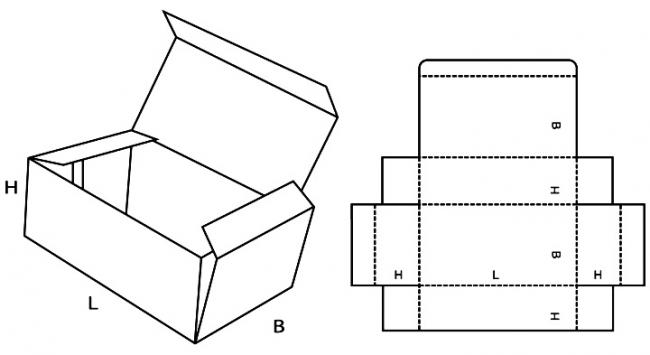 Схема хлебницы из бамбуковой салфетки
