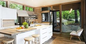 Варианты функциональной планировки и дизайн интерьера кухни 17 кв. метров фото