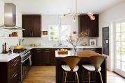 Фото 7 Варианты функциональной планировки и дизайн интерьера кухни 17 кв. метров