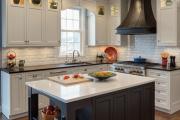 Фото 13 Варианты функциональной планировки и дизайн интерьера кухни 17 кв. метров