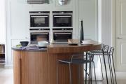Фото 17 Варианты функциональной планировки и дизайн интерьера кухни 17 кв. метров