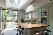 Фото 3 Варианты функциональной планировки и дизайн интерьера кухни 17 кв. метров
