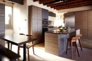 Фото 30 Варианты функциональной планировки и дизайн интерьера кухни 17 кв. метров