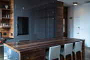 Фото 37 Варианты функциональной планировки и дизайн интерьера кухни 17 кв. метров