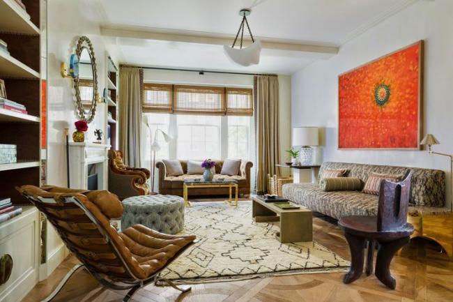Элегантный образ гостиной комнаты