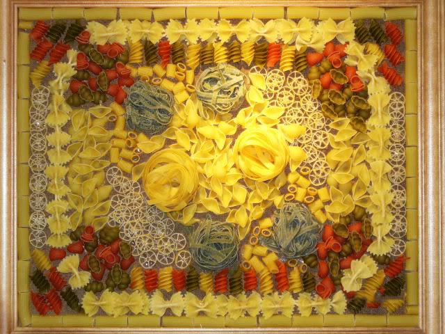 Поделки для кухни своими руками из макарон 40