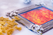 Фото 23 Картины из макарон: креативные идеи и мастер-классы своими руками