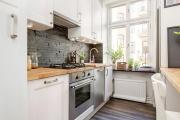 Фото 12 Прямая кухня 2,5 метра: обзор вариантов и советы по выбору правильного гарнитура